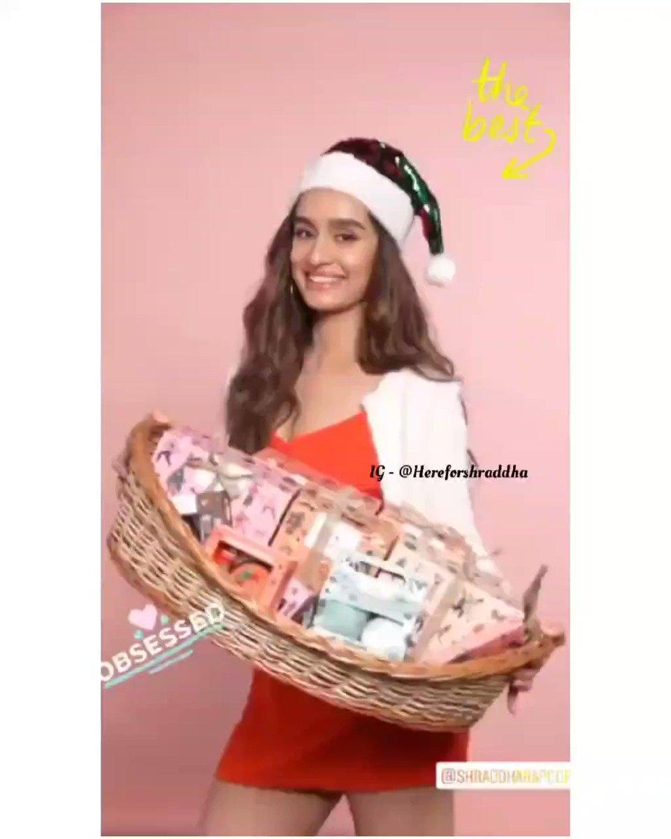 @ShraddhaKapoor for @TheBodyShopIND 🌸❤️  #ShraddhaKapoor #shraddhagems #TheBodyShopIndia #Christmas   P.s. @TheBodyShopIND Instagram story update. Ft. @ShraddhaKapoor