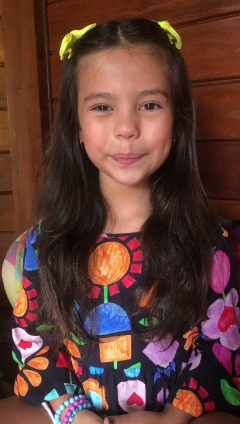 Alice Palmar,  da novela 'Salve-se Quem Puder', foi a vencedora na categoria Melhor ator Mirim no #PremioCONTIGO2020 @wellabr #Paixaoporcabelos #KolestonNoitesIluminadas