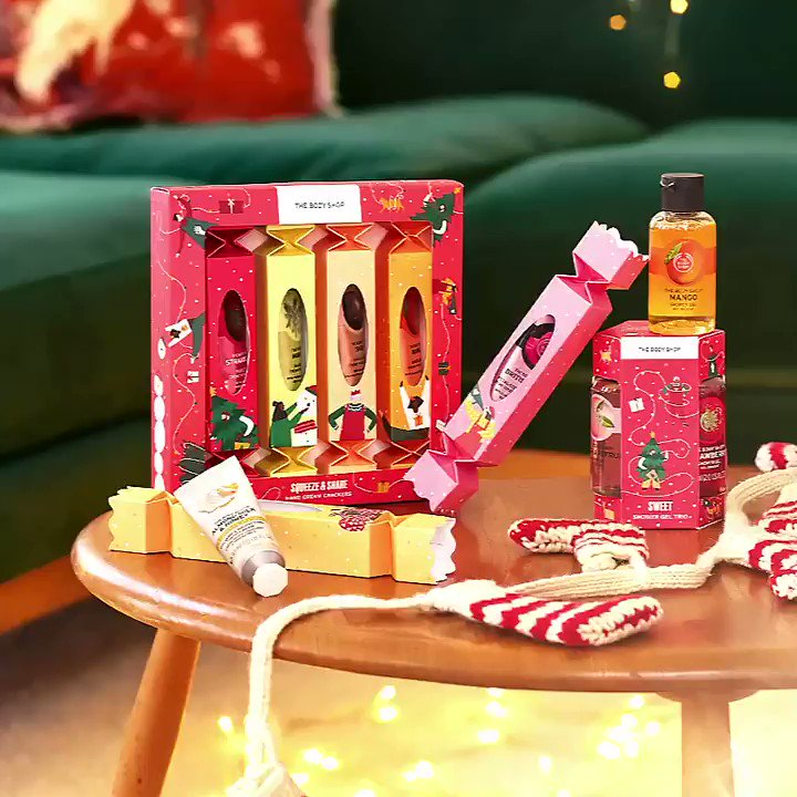 With gifts that feel this good, you're sure to spread some cheer this Christmas. Share love with gifts that will delight everyone. Shop Online, in-store or via home delivery call +917042004412 #TBSInd #XmasAtTheBodyShop #MakeItRealTogether #Christmas #GiftBox #TheBodyShopIndia