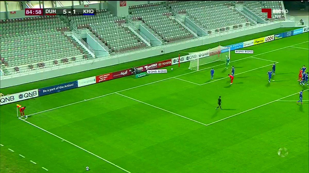 فيديو الدحيل يتقدم 6 1 على الخور عبر أحمد ياسر في الدقيقة 86 دوري نجوم QNB