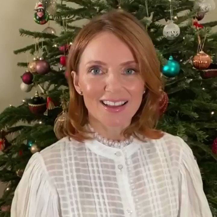 Christmas wishes from @GeriHalliwell ❤️