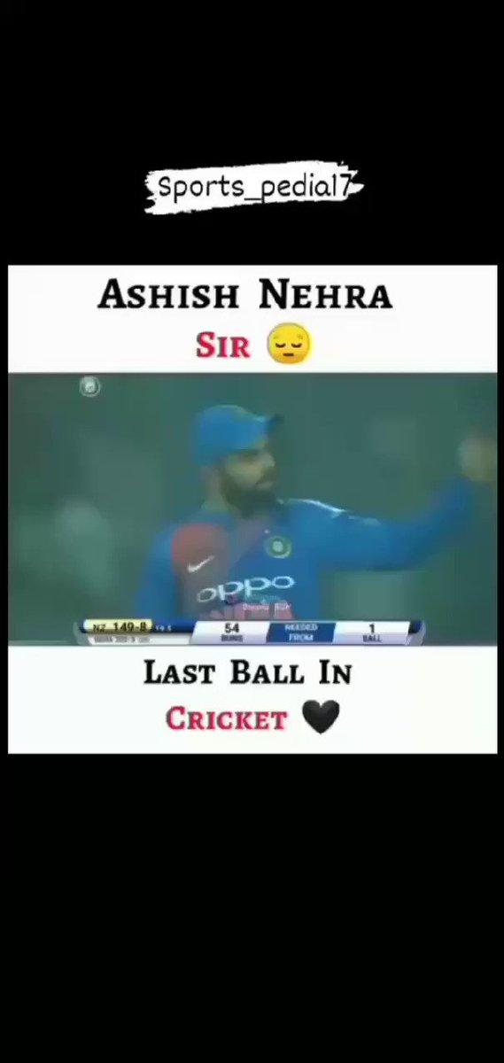 @MSDivyanshu Nehra ji More emotional then sachin sirs retirement tbh