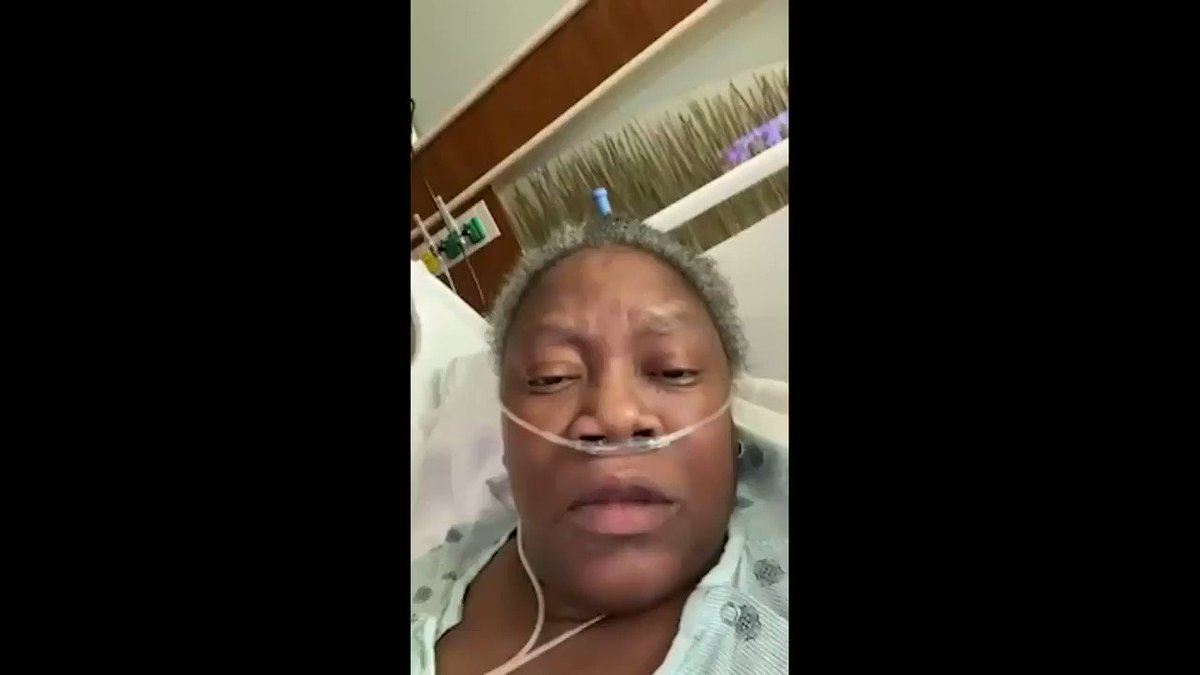 "Dr. Susan Moore died today from COVID, but HOW she died is unacceptable. She posted a video to Facebook from an Indiana hospital days before her death about mistreatment. ""This is how black people get killed when you send them home and they don't know how to fight for themselves"""