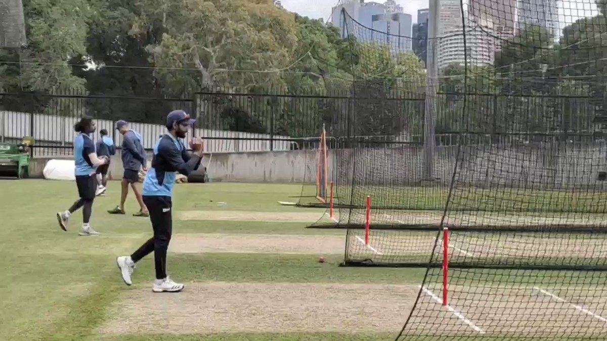See, who is back in the nets. @imjadeja is here and has started preparing for the Boxing Day Test. #TeamIndia #AUSvIND