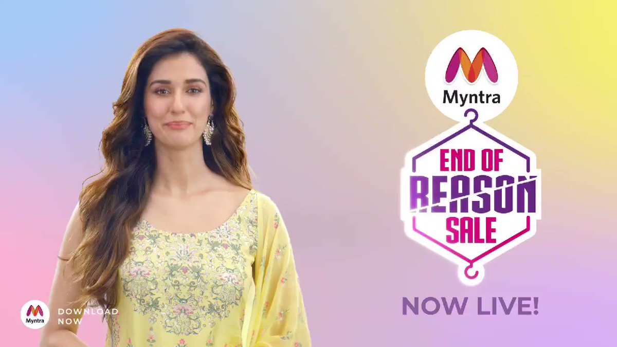 India's Biggest Fashion Sale is Now Live! Get the Biggest deals on the Biggest Brands. Don't Miss Out! #IndiasBIGGESTFashionSale #MyntraEndOfReasonSale @myntra https://t.co/uJ8HI5tunL