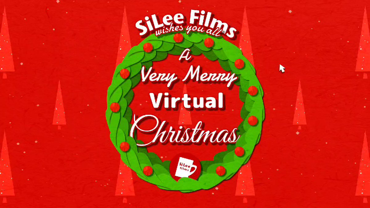 "2020 has been like no other year - Amidst everything that's going on we've all had to get used to the ""joys"" of ""Virtual"" meetings.... Merry Christmas everyone - Here's to 2021!  #2dAnimation #Christmas2020 🎄"