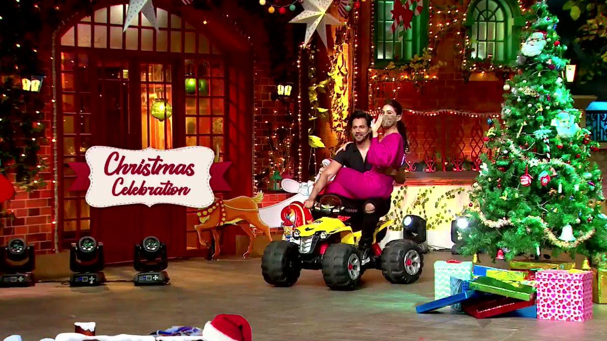 Iss Christmas, comedy ke sabse bade manch par hoga sabse zyada entertainment Coolie No. 1 ki star cast ke saath. Toh dekhna na bhoolein #TheKapilSharmaShow iss Sat-Sun raat 9:30 baje.