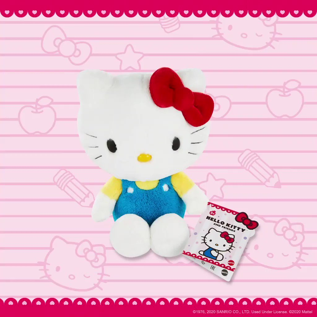 The sweetest surprises for any holiday wish list! 💝 Shop last-minute gifts from @Mattel x Hello Kitty and Friends now in-stores at @Walmart.