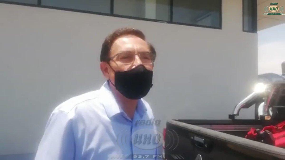 """🚨@MartinVizcarraC: @EdgarAlarconT está descalificado para investigarnos  👉https://t.co/E3ZiiEomQx  ▶El expresidente dijo desde #Tacna que """"Edgar Alarcón no merece el respeto absolutamente de nadie"""". @congresoperu https://t.co/GjIO0Xipyf"""