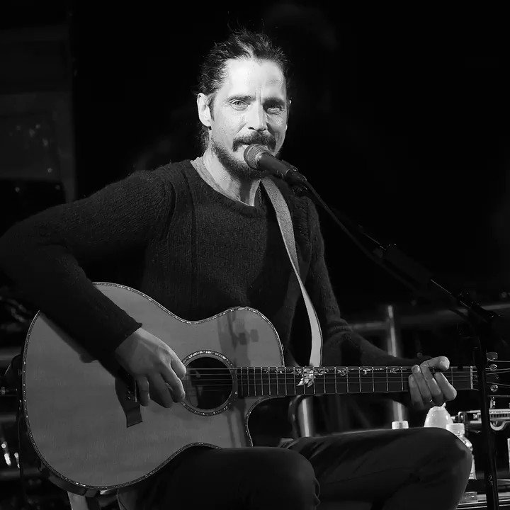 """A new album of cover songs, No One Sings Like You Anymore, has just been released by @chriscornell's estate, and it includes a moving cover of Prince's """"Nothing Compares 2 U."""""""
