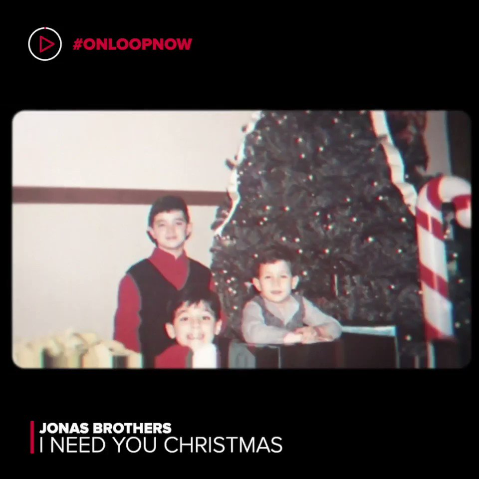 Introducing a new song to add to your #Christmas playlist, #INeedYouChristmas by @jonasbrothers🎄