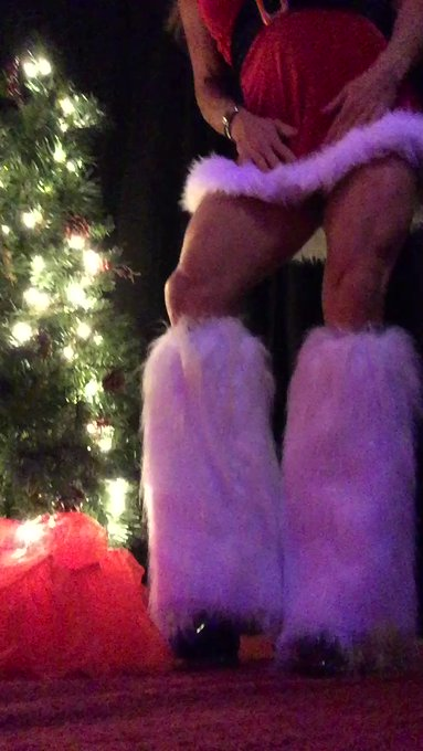 I'm sooo naughty tonight! Teaser from a sexy vid I just shot! Who wants to be Santa's helper with me