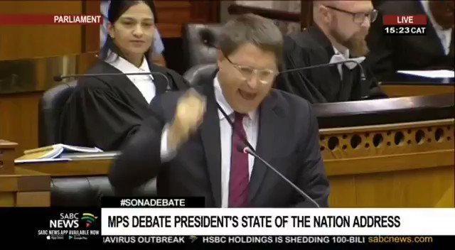 Maar Parliament would be boring without The EFF's @MbuyiseniNdlozi   lets be honest https://t.co/txP1NZv97Q