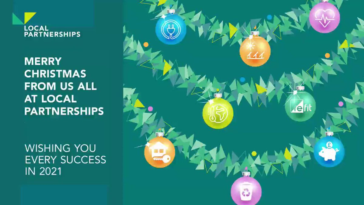 Merry Christmas from us all at Local Partnerships! 🎄🎅
