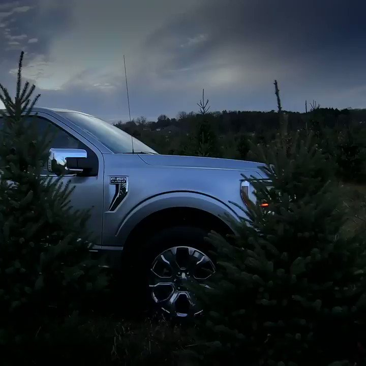 Amping up the holiday spirit the only way we know how. #FordF150
