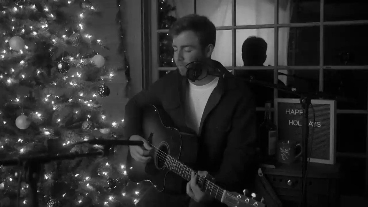 "What a bright time, it's the right time...to drop a new Christmas cover, right? Check out my version of ""Jingle Bell Rock"" 🎶"