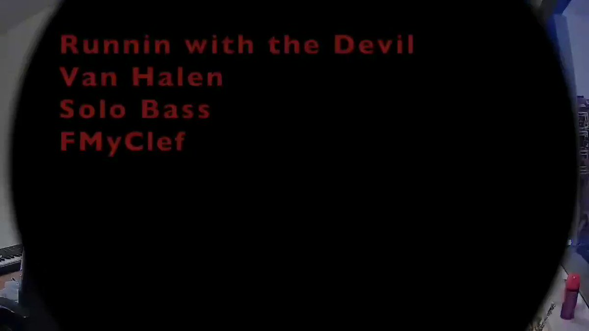 Made a #VanHalen #bass 📹 of something I've been working on, whatcha think☺  #evh #runninwiththedevil #solo #bassguitar #schechter #fmyclef #music #newcontent #rock #bassplayers #coversong #bassist #EddieVanHalen #vanhalenarmy