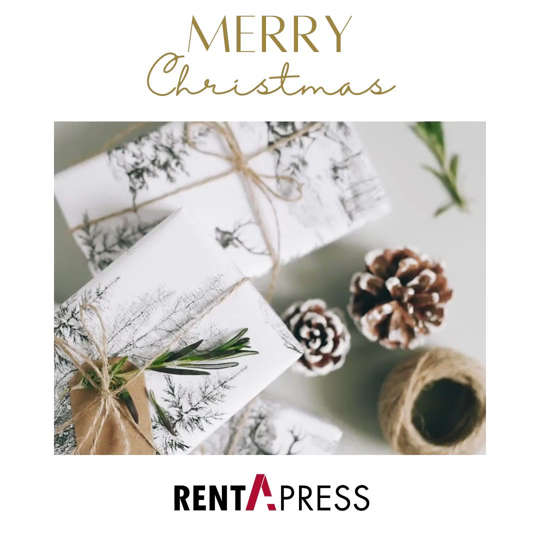 Image for the Tweet beginning: Everyone at #RentaPress wishes you