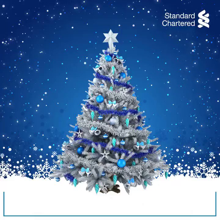 This is the season to eat, shop and be merry. Here's wishing you a Merry Christmas.  #StandardChartered #MerryChristmas