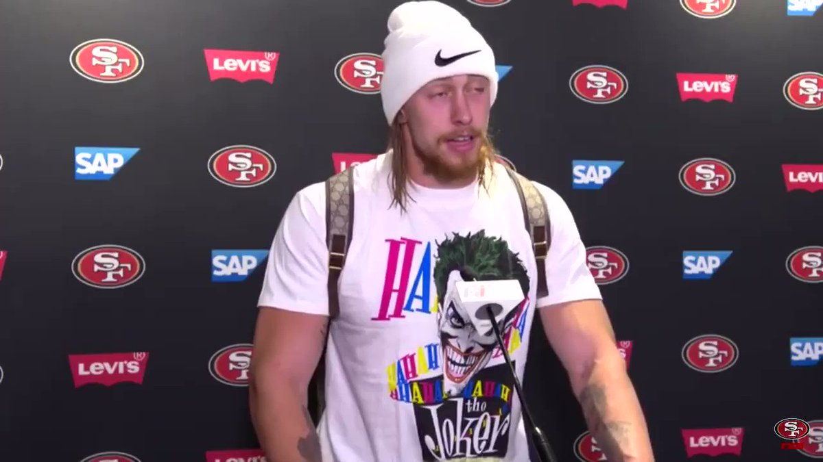 """I fucking love the Bears.""  - San Francisco 49ers TE George Kittle  This is a must watch for Bears fans.  (Video via 49ers YouTube)"