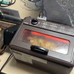 2000円のオーブントースターが回転式に!素晴らしい技術