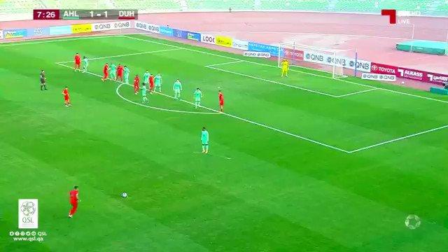 فيديو هدف الدحيل الثاني عن طريق اللاعب أحمد ياسر الأهلي الدحيل ١ ٢ الأسبوع ١١ دوري نجوم QNB