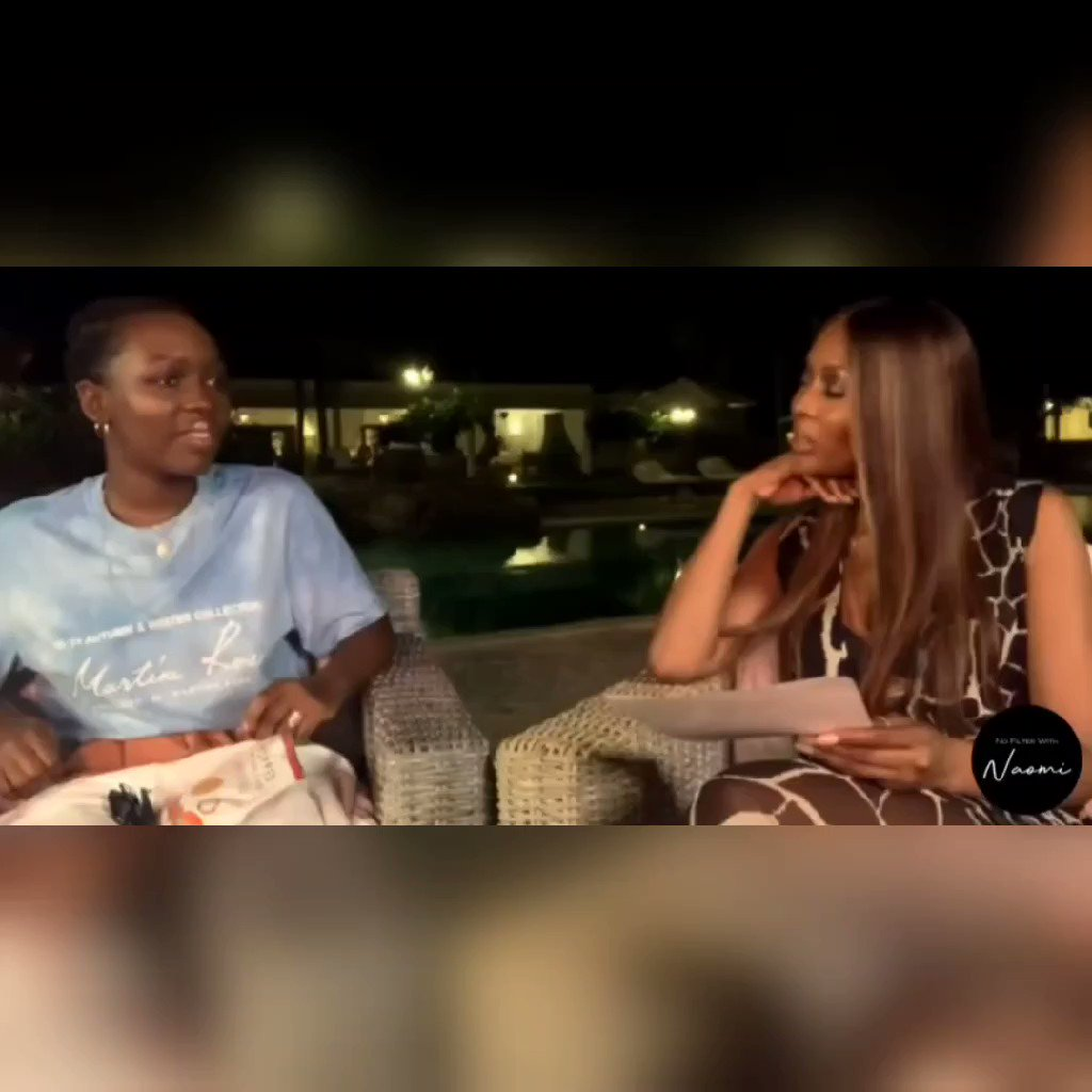 """""""Kenya is my home... You get an attachment to your home, but I will say the place that has brought me down the most, if we're being very honest is Kenya..."""" Elsa Majimbo on #NoFilterWithNaomi"""