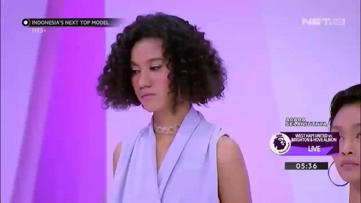 bocoran di Wiki yang bener cuma pas Audrey dapet best foto, sisanya salah 😂  FCO: Audrey 2nd: Yumi 3rd: Devina (Devina yuhu selalu top 3)  #indonesiasnexttopmodel