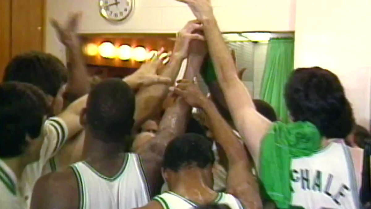 """There are rivalries, and then there is the Celtics vs. the Lakers.  All 3 parts of """"Celtics/Lakers: Best of Enemies"""" re-air today at 1 PM ET on ESPN 🍿 https://t.co/MtJG3jG2rd"""