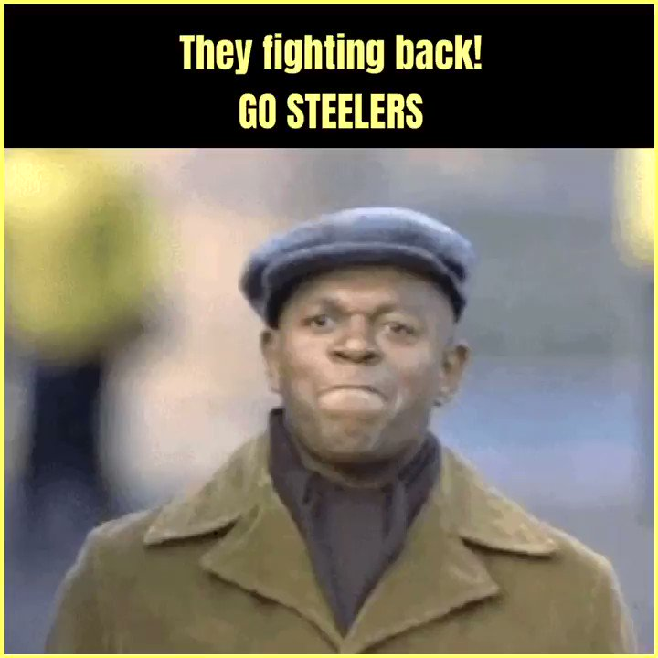 That announcer said what I said, the momentum has shifted! LETS GO STEELERS 🐝🐝🐝 #steelers #steelersnation #steelernation #HereWeGo