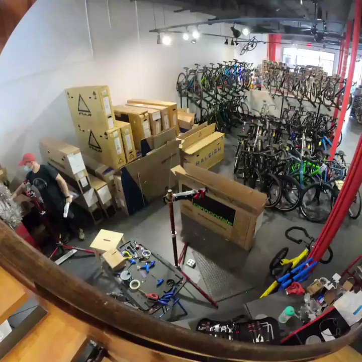 With pleasure we double check each bike before shipping to make sure it's as easy as possible to assemble with little needed to get rolling. Check out this timelapse!  #bike #cycling #onlineshopping #crimsonbikes