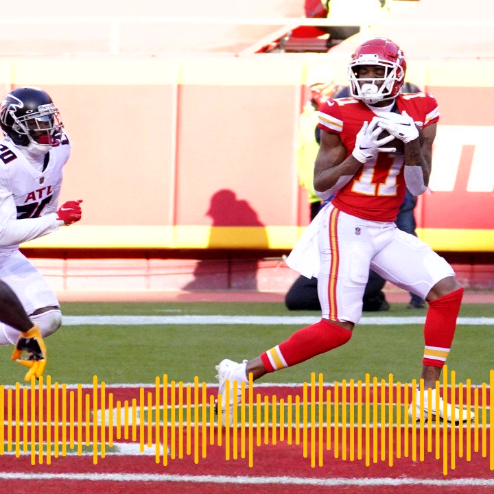 Listen to the Chiefs Radio Network Play of the Game against the Atlanta Falcons, presented by @Helzberg