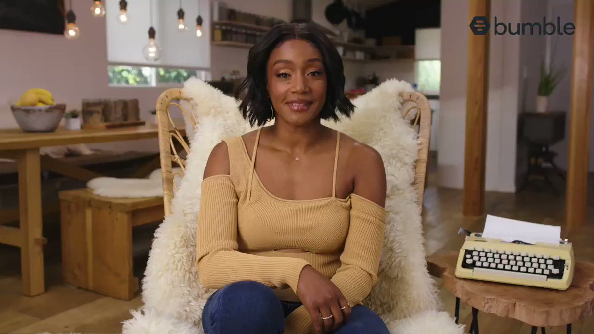 You're about to find out what I would do. 😉 I answered real questions from @bumble users because 2021 is about getting your confidence back and yourself a DATE. You can leave your ex in 2020. #BumblePartner check full video on my ig @TiffanyHaddish