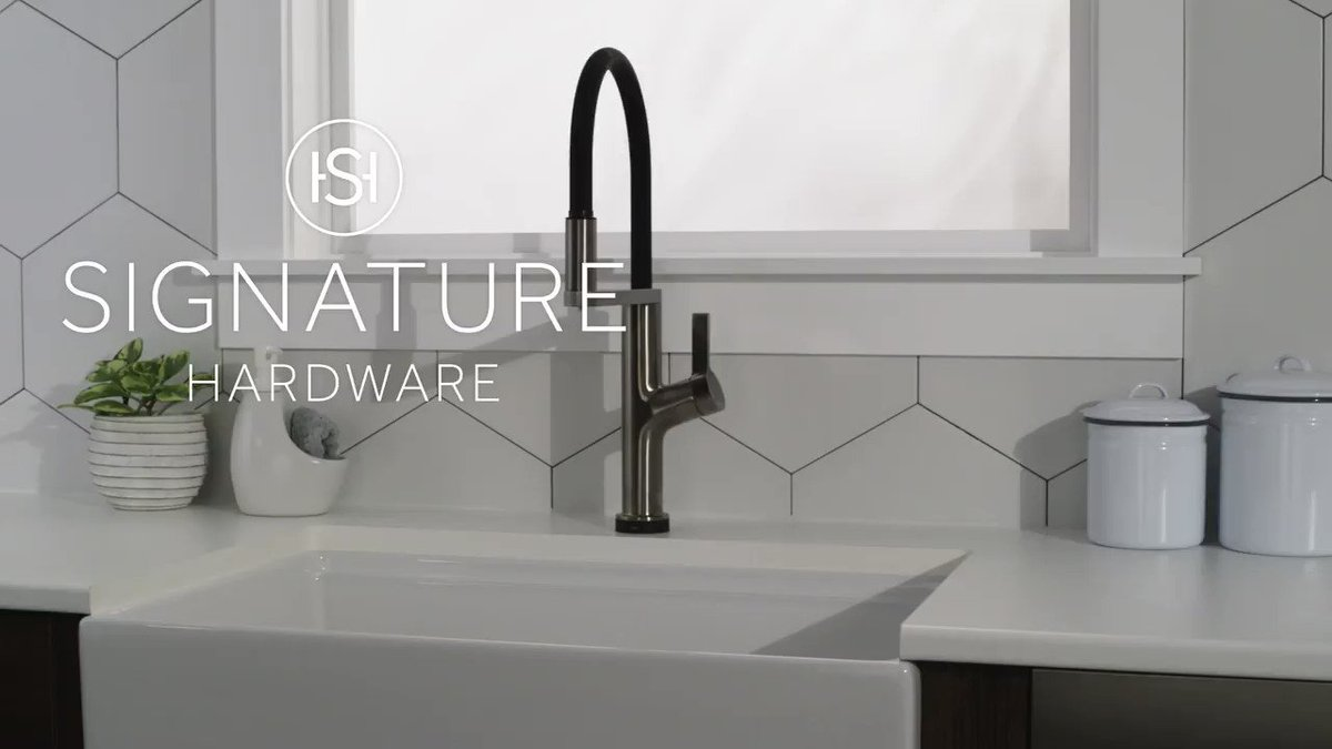 The Fanning Filtration Kitchen Faucet has a sleek, modern design with a dual-function pull-down spray made of solid brass. Easily switch from an aerated stream to filtered drinking water—oh, and it's corrosion-resistant too. Shop now: https://t.co/JKqcL0XoVP #kitchendesign #inspo https://t.co/BanqxLVeNm