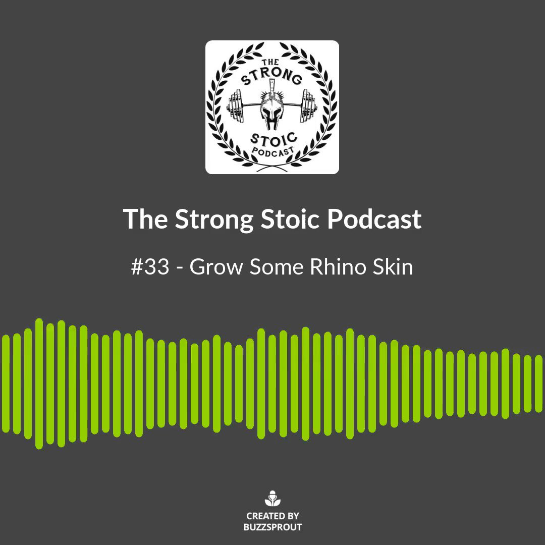 New episode out today, friends!  . #toughskin #rhinoskin #offended #growup #maturity #strong #strength #podcast #podcasts #newpodcastepisode