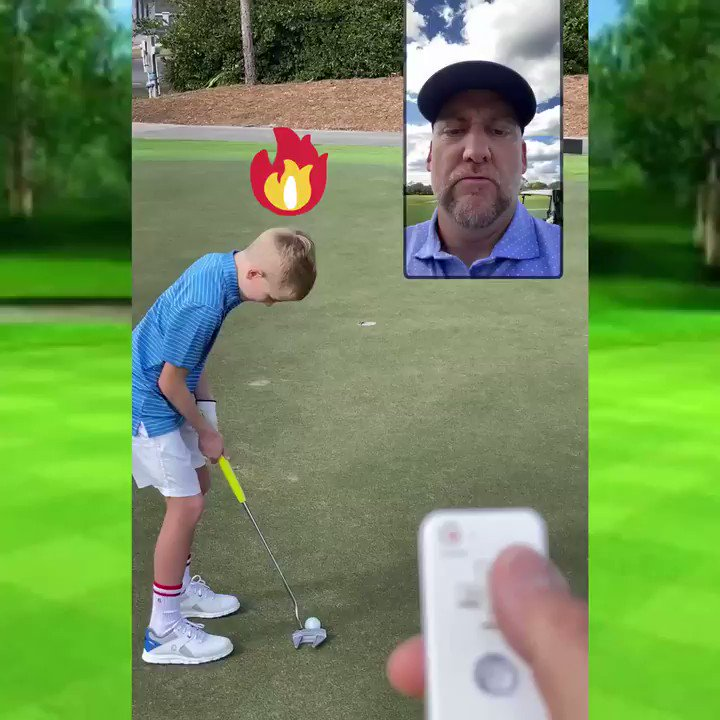 If only golf was as simple as video games...🤣