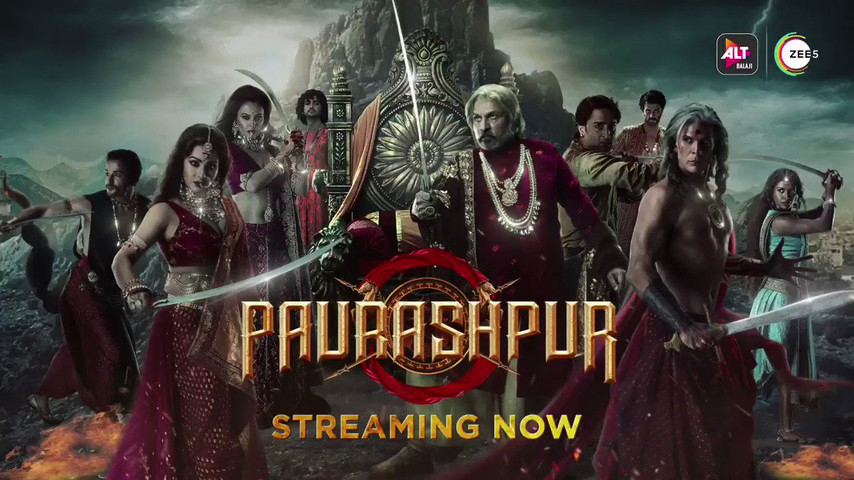 Paurashpur, the kingdom dominated by men, has women who are deprived of their rights. In this fight for equality, who will take charge? Will the rebels back down? The answers are out now! #Paurashpur, streaming now on @altbalaji & @zee5shows   @ektarkapoor @milindrunning