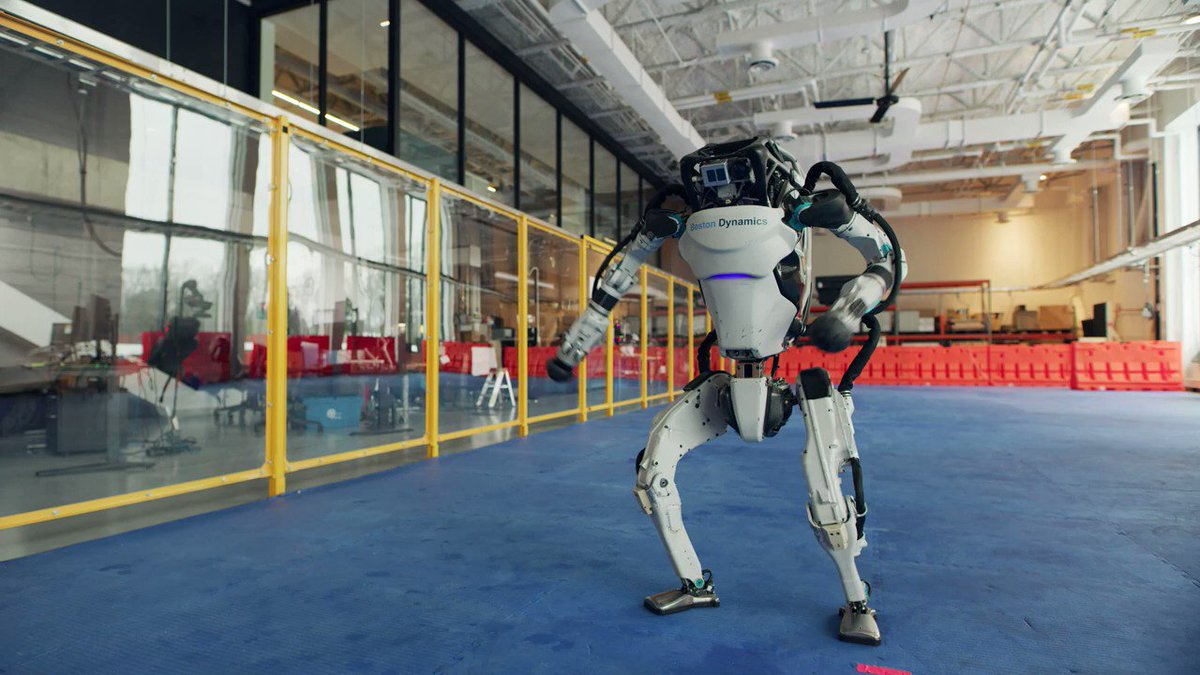 "Sure, these robots can dance to the oldies, but can they do ""The Robot"" or the ""Robo-boogie""?  More importantly, what can they do on a job site as they gain balance and coordination?"