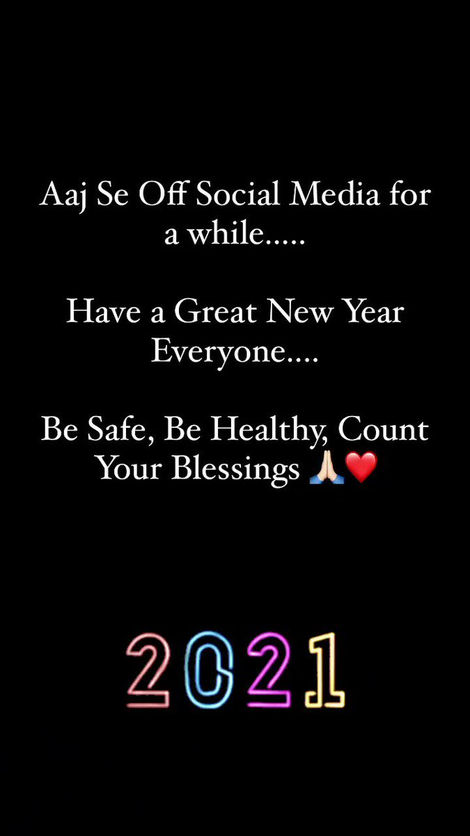 #HappyNewYear2021
