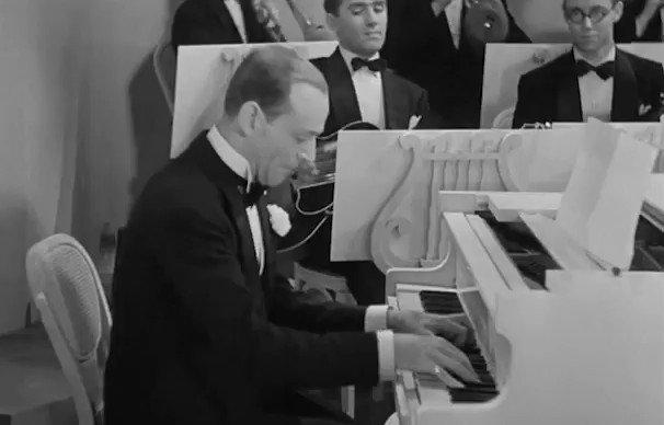"Fred Astaire & Ginger Rogers performing ""I Won't Dance"" in ROBERTA (1935) dir. William A. Seiter [1/2]"