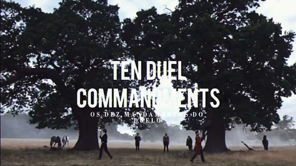 • os dez mandamentos do duelo •