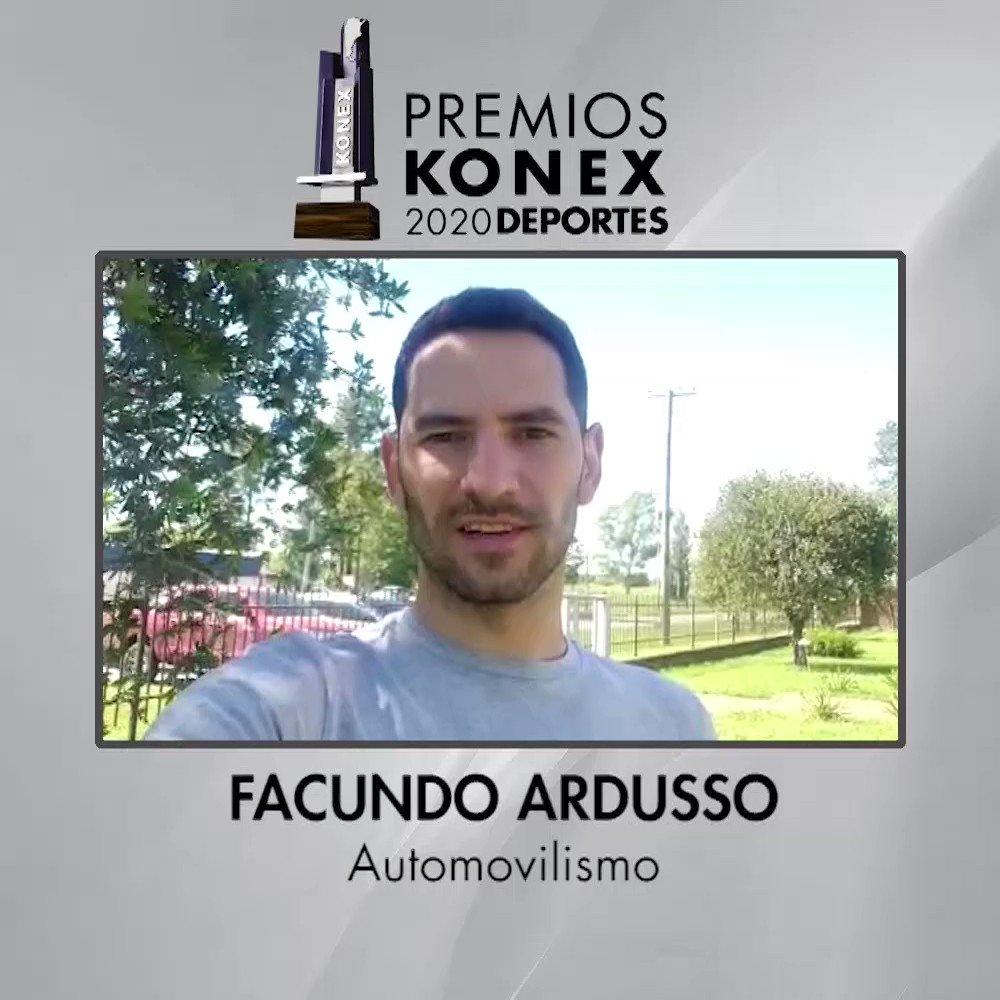 🏎 @FacundoArdusso obtuvo el Diploma al Mérito de los #PremiosKonex 2020 como uno de los mejores #Automovilistas de la última década en la Argentina.   🏆Compartimos sus palabras tras recibir el Premio Konex 2020.  Aquí su biografía en nuestra web 👇