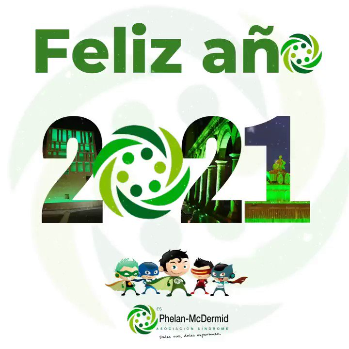 🍀 ¡Bienvenido 2⃣0⃣2⃣1!  🙏 Desde Phelan damos la bienvenida a este año nuevo. Deseamos que el 2021 sea un año diferente lleno de alegría, solidaridad, paz y felicidad!  #Felizaño2021 #phelanmcdermid #22q13 #phelanmcdermidsyndrome #sindromephelan