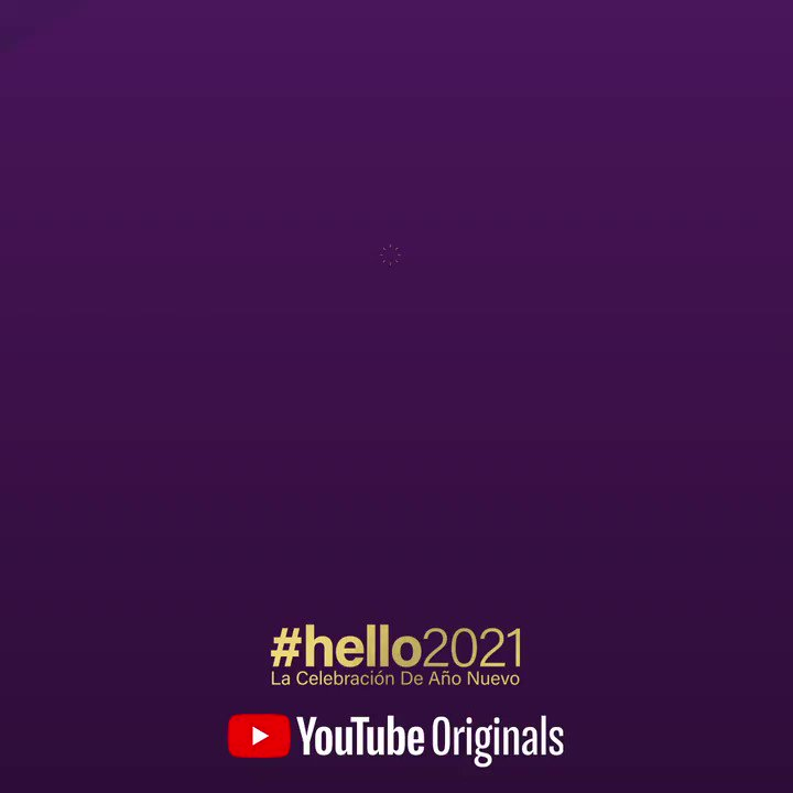 Tonight's the night! Ring in the New Year with me and @YouTube in #hello2021 👉   #YouTubeNYE