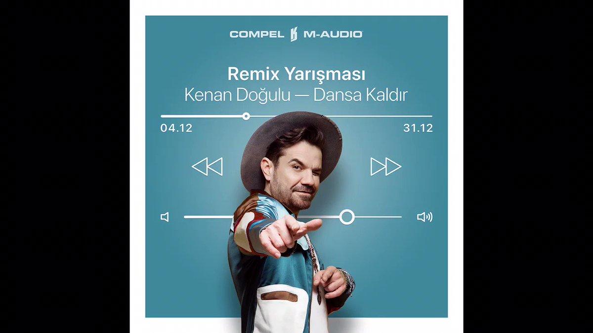 @kenandogulu @CompelMusic ve @M_Audio_ nun düzenlediği yarışma için hazırladığım remix'i dinlemek için şuraya gözatabilirsiniz:  ✌🏻 #KenanıDansaKaldır