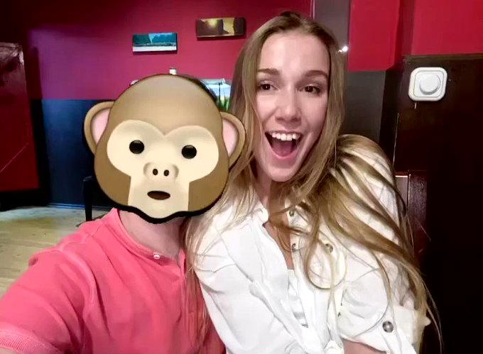 Happy birthday to the unique and marvelous @AlexisCrystal3 🎉❤️🐒 So much monkey love 🥰🐒🥰 https://t.co