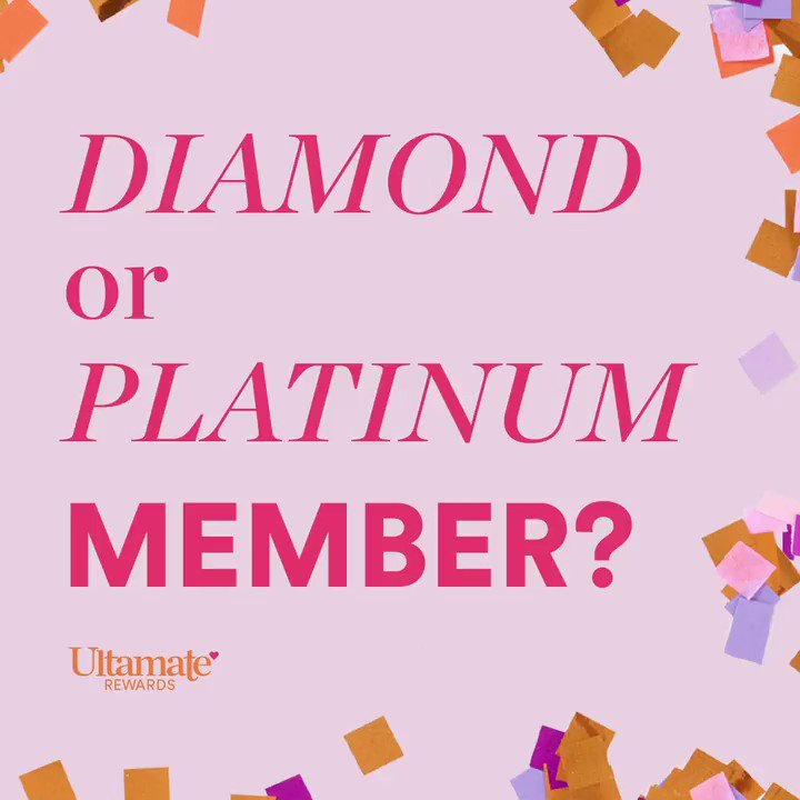After 2020, you deserve a reward. Stay Diamond or Platinum through this year (on us)! If you fell a little short, just accept our gift in the app or at . #ultabeauty