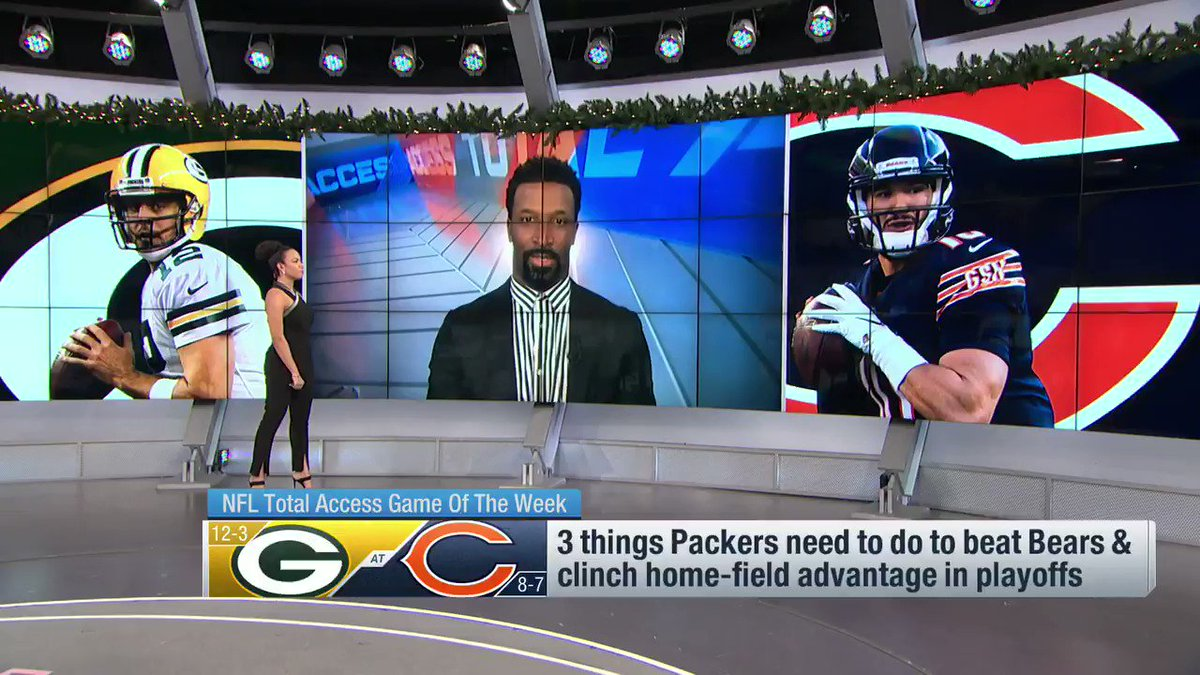 Replying to @NFLTotalAccess: .@Packers keys to keeping the 1 seed  1. Establish the run 2. 🤔 3. 🤔  @89JonesNTAF