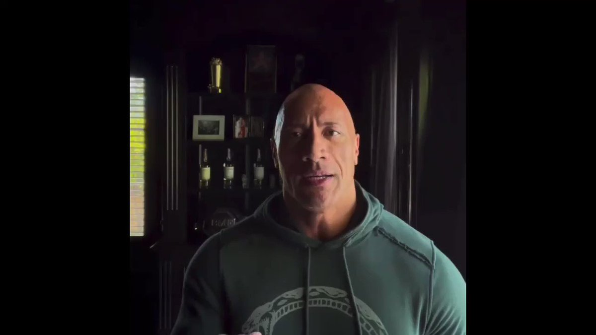 As much as my fans get fired up and inspired by what I put out to the world...This right here spoke to me earlier today. 💯 Thank you  @TheRock  Pass a long