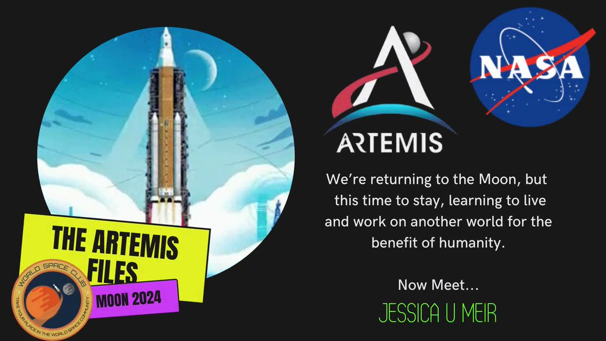#Artemis Update: @NASA have selected an initial team of astronauts to help pave the way for our next human missions on and around the #Moon.... So let's start the New Year by getting to know the Artemis Team!🚀🌔✨  Starting today with @Astro_Jessica👩🏻🚀  #SpaceHour #MoonHour #STEM